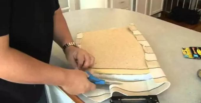 measure fabric kitchen chair seat for upholstery fabric