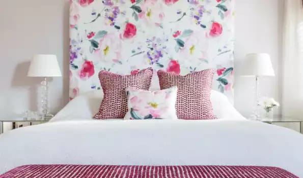 How to cover a headboard with fabric