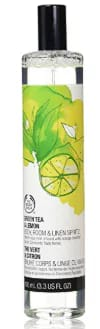 BODY SHOP GREEN TEA AND LEMON BODY ROOM OR FABRIC SPRITZ