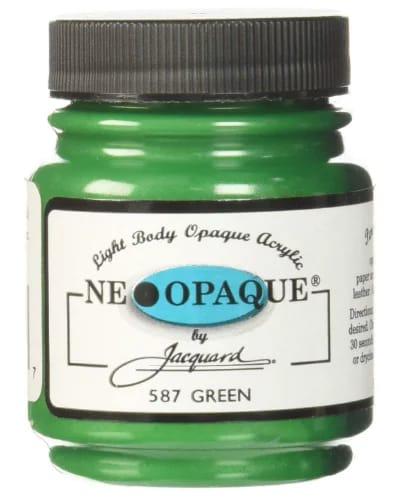 Neopaque acrylic paint