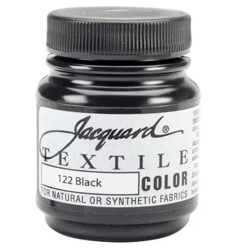Jacquard textile color fabric paint