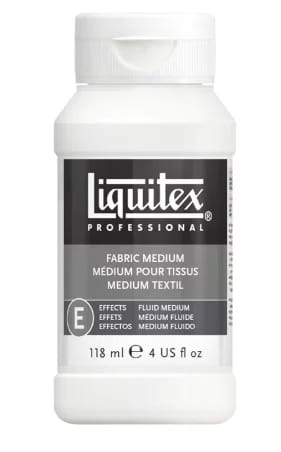 Liquitex professional fabric effects medium
