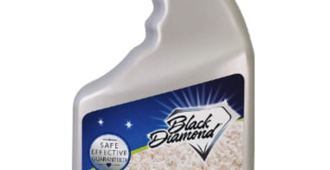 Black diamond carpet spot remover