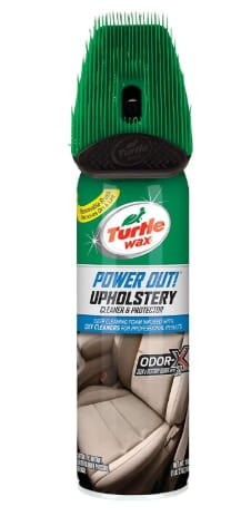 Turtle wax power upholstery cleaner