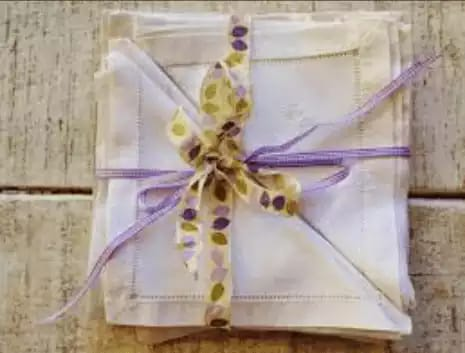 how to make fabric or cloth napkins