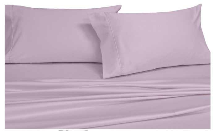 Royal's solid white 600-thread count 2pc queen size pillowcases