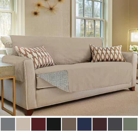 Gorilla Grip Original Slip Resistant Sofa Slipcover