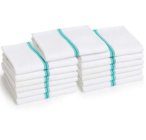 Liliane Collection 13 Pack Cotton Tea Towels