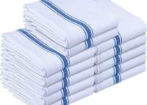 Utopia kitchen towels, 12 pieces and tea towels