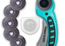 Premier blades 45mm rotary cutter for quilters