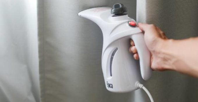how to use fabric steamer