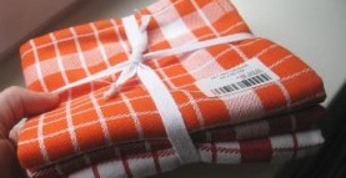 how to make tea towels at home