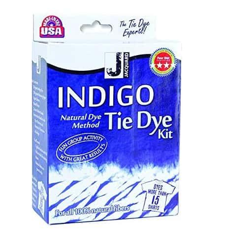Jacquard Indigo Tie Dye For Fabric