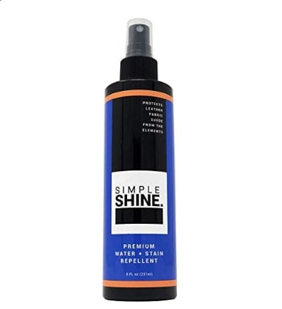 Simple shine premium water spray repellent