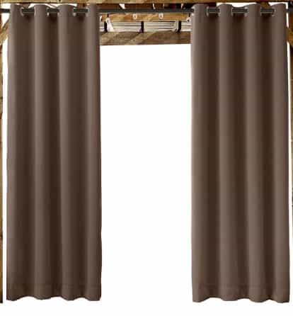 ChadMade Outdoor Curtain, best curtain for patio & beach home