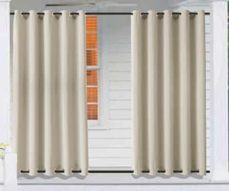 Macochico best Outdoor Windproof Curtains