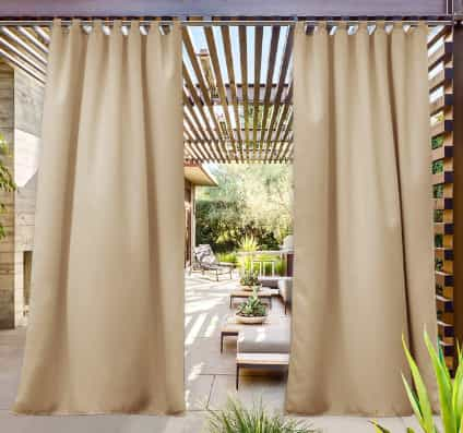 NICETOWN Patio Door Curtain