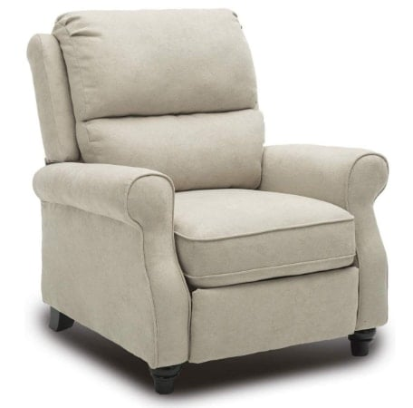BONZY Pushback Recliner Chair- Easy to Push