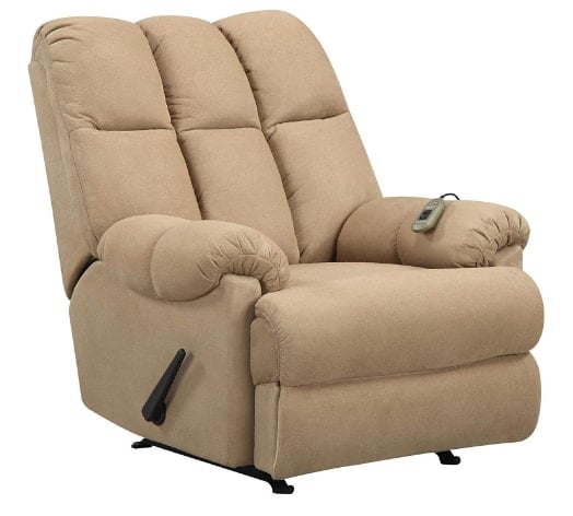 Dorel Living Padded Dual Massage Recliner