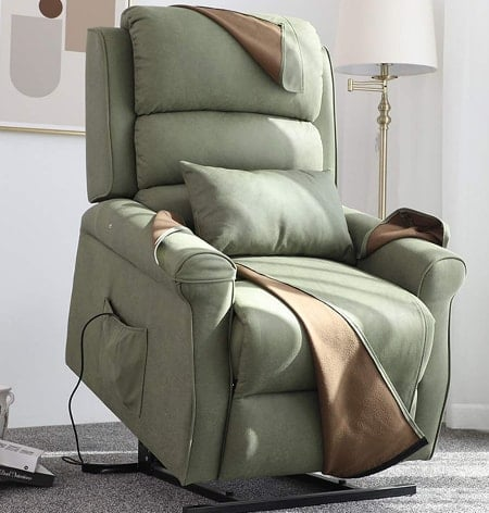 Irene House Power Modern Transitional Lift Chair Fabric Recliners