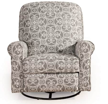 Pulaski Ashewick Swivel, Fabric Glider Recliner