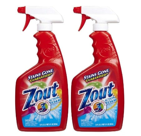 Zout Triple Enzyme Formula Laundry Stain Removers