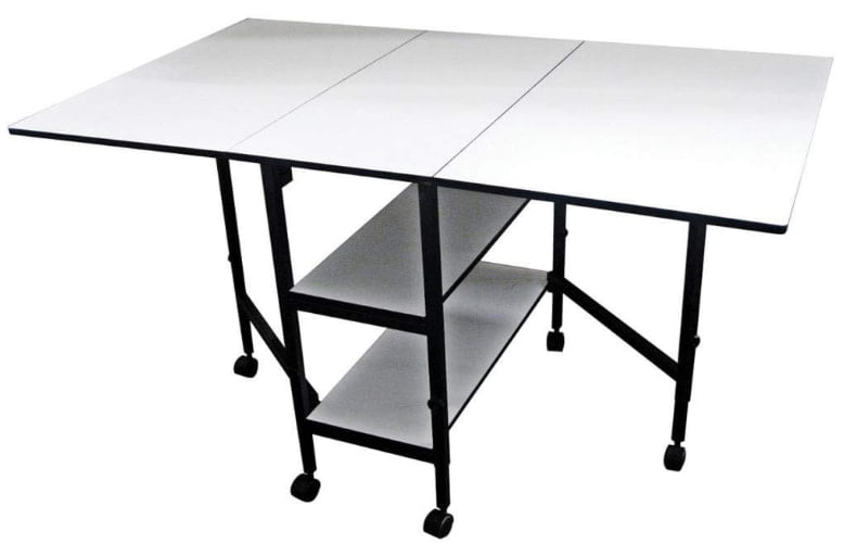Sullivans Home Hobby Adjustable Height Foldable Table