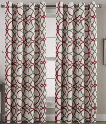 H.VERSAILTEX Blackout Curtain Panels For Living Room Or Bedroom
