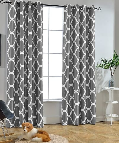 Melodieux Moroccan Fashion Room Curtains For Living Room