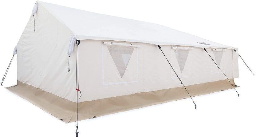 Outdoor Waterproof Canvas Large Wall Tent for hunting and family camping