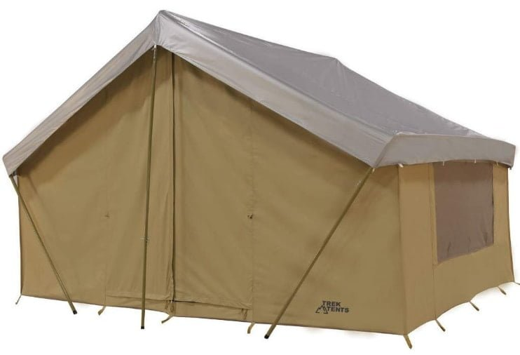 Trek Tents, Cotton Canvas Cabin Tent