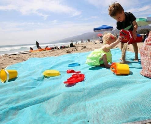 ABETER Best Sand Free Beach Mat Blanket