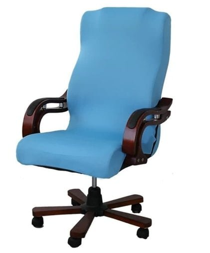 Deisy Dee Slipcovers Computer Office Stretch Polyester Desk Chair Covers