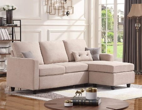 HONBAY Convertible Cheap Sectional