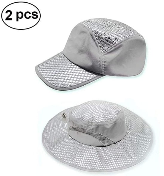 2 Packs Evaporative Women Men Cooling Hat Summer Ice Cap