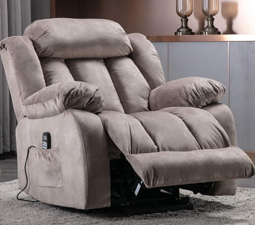 ANJ Big And Tall Recliner Heavy Duty Lift Power Massage Chair