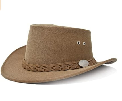 Aussie Chiller Original Outback Bushie Cooling Hat For Hot Weather