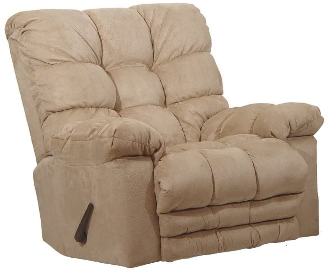 Catnapper Magnum Chaise Oversized Rocker Recliner- Big Man Recliner Chairs