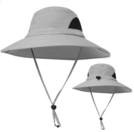 KPWIN Fishing Hat, Safari Hat Cap With UPF 50 Sun Protection