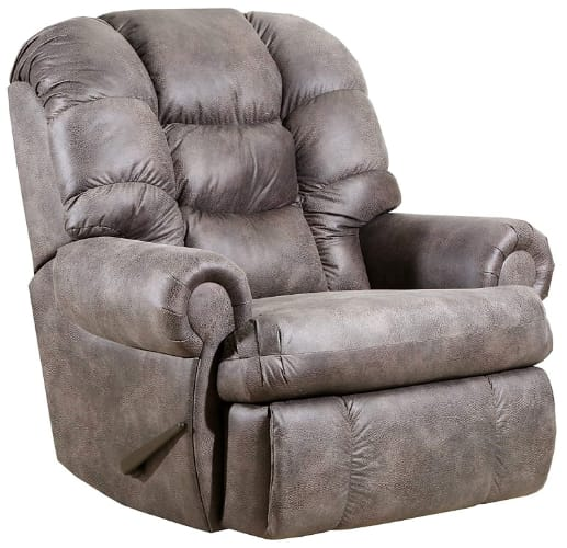 Lane Home Furnishings 4501-19 Dorado Charcoal big and tall man's rocker recliner