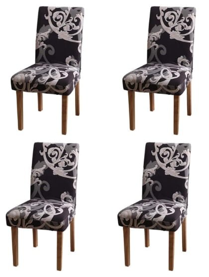 YEESION Stretch Spandex Dining Chair Slipcovers