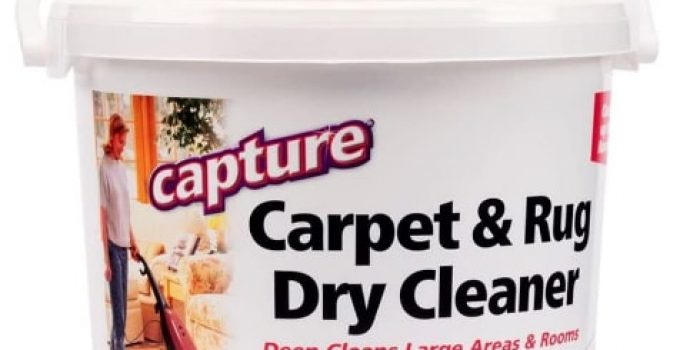 capture carpet cleaner powder