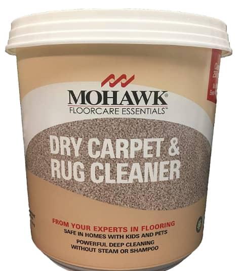 Mohawk Dry Carpet & rug powder cleaner