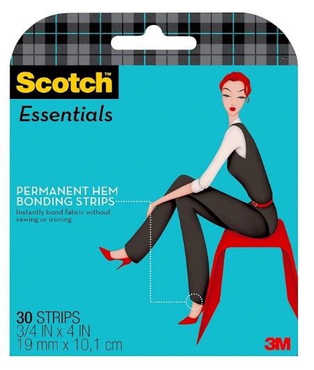 Scotch Essentials Permanent Hem Bonding Strips