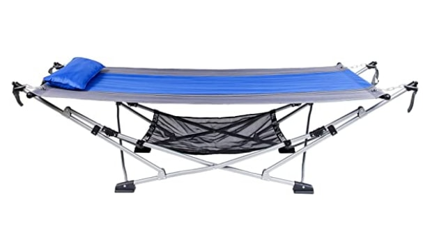 MacSports Portable Foldable Hammock With Removable Canopy & Carry Case