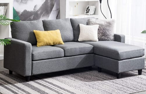 HONBAY-Reversible-Sectional-Sofa-For-Small-Apartment