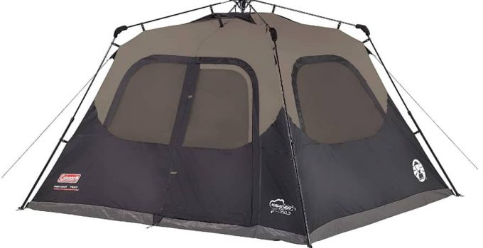 Coleman 6 person instant tent review