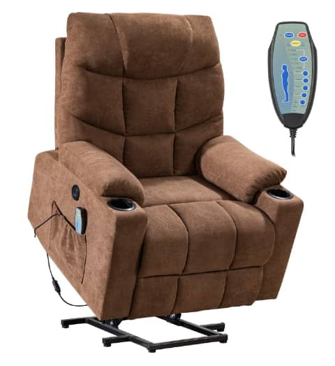 FDW Store Power Electric Wall Hugging Massage Recliner Chair