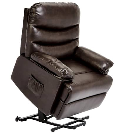 JC Home Sabadell Wall Hugger Power Lift Recliner