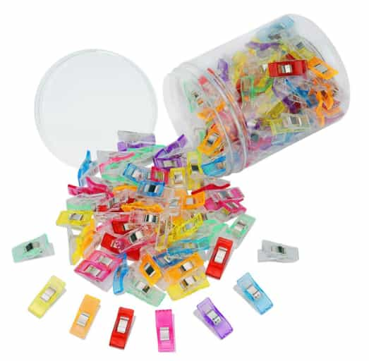 120 PCS Multipurpose Wonder Clamps Clips For Sewing